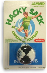 1984 Hacky Sack Jammer packaged