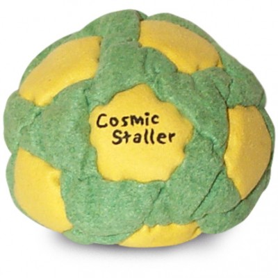 Cosmic Staller Footbag Yellow-Green