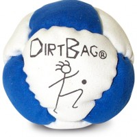 Dirtbag white-blue