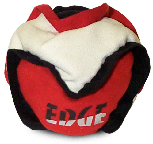 Edge footbag