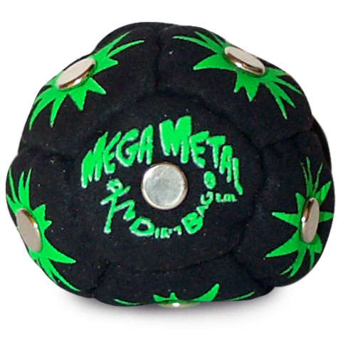 Mega Metal Footbag Black-Green