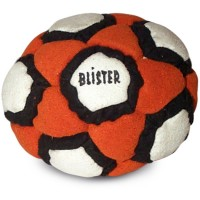 Sand Blister Footbag Orange-White-Black