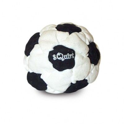 sQuirt footbag black-white soccer