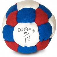 Dirtbag 26 White-Red-Blue