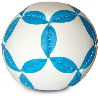 Juggling Ball White:Blue