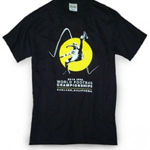 Championship footbag Tee shirt
