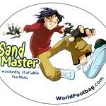Sandmaster sticker