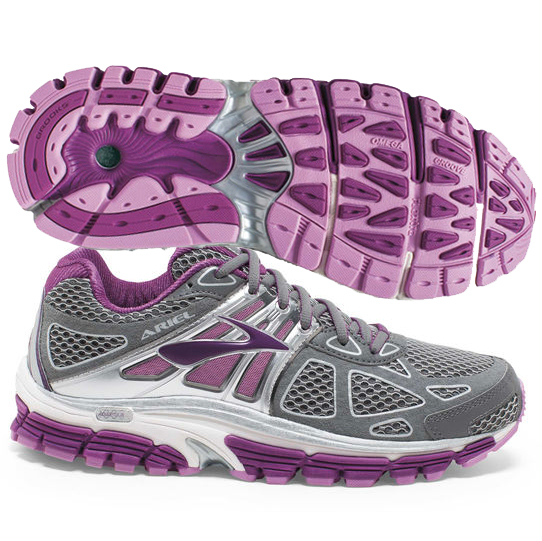 separation shoes a5764 d0980 Brooks Ariel 14 Women's Smoked Pearl/Violet