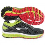 Brooks Adrenaline GTS 16 Mens Black-neon