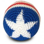 Old Glory Footbag