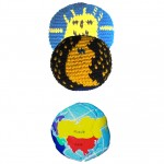 Solar Eclipse Footbag kit
