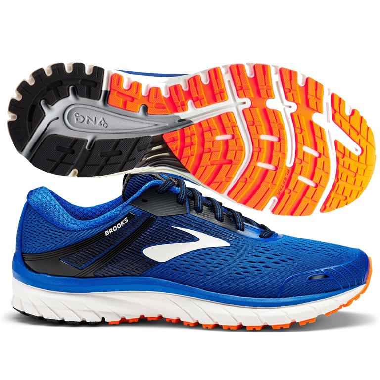 c5f6c0bf7ca Brooks Adrenaline GTS 18 Men s Blue Black Orange
