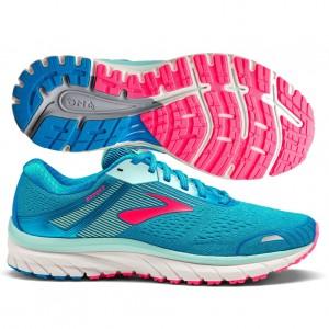 Womens GTS 18 Blue-Mint-Pink