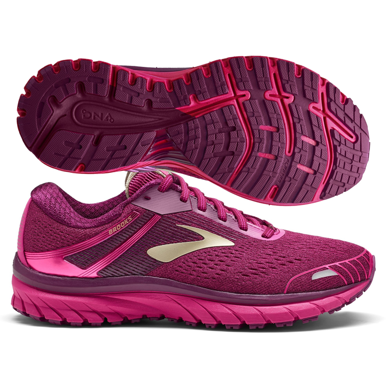 b487f33823a Brooks Adrenaline GTS 18 Women s Pink Plum