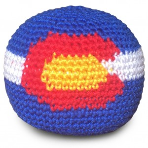 Colorado Flag Footbag